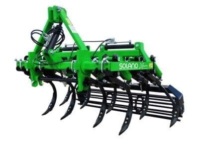 Cultivador viñedo CH VE brazo 30x30 con rejas 2 puntas y rodillo 01