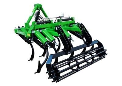 Cultivador viñedo CH VE brazo 30x30 con rejas 2 puntas y rodillo 02
