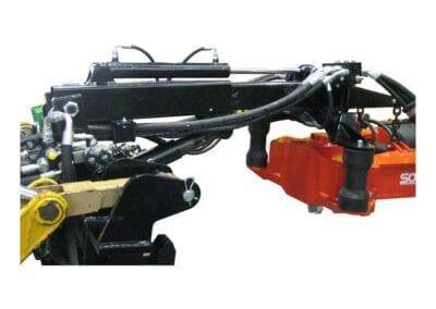 Extensible vibrador de 400 mm instalado en Solano Horizonte
