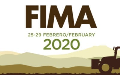Display of SOLANO HORIZONTE agricultural machinery at FIMA 2020