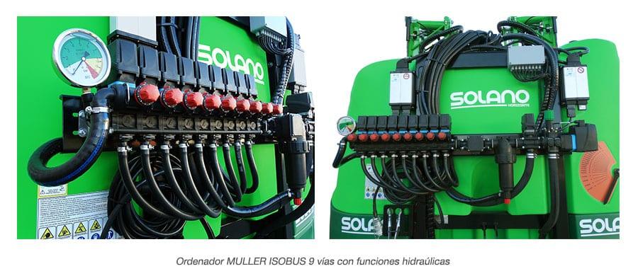 Ordenador MULLER ISOBUS 9 pulverizador new elegant