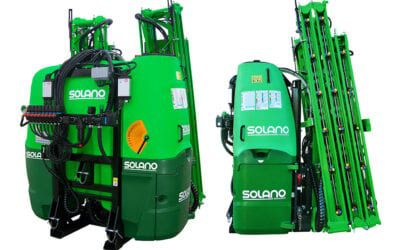 NEW ELEGANT tractor-mounted sprayer: more compact, more stable and safer