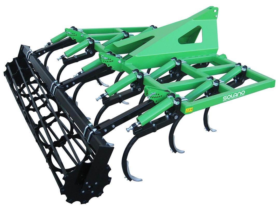 Superchisel 3 filas brazo 40x40 CHR3 13 con rodillo 550