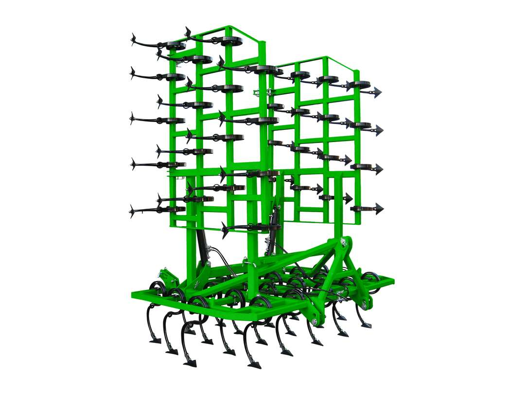Vibrocultivador VCH brazo 45x12 plegado vertical