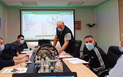 Solano Horizonte's dealers training days in harvesters